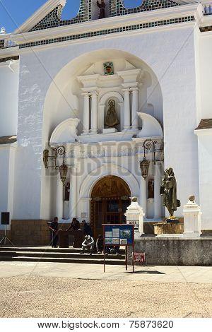 Basilica of Copacabana, Bolivia