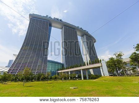 Marina Bay Sands Luxury Hotel At Singapore