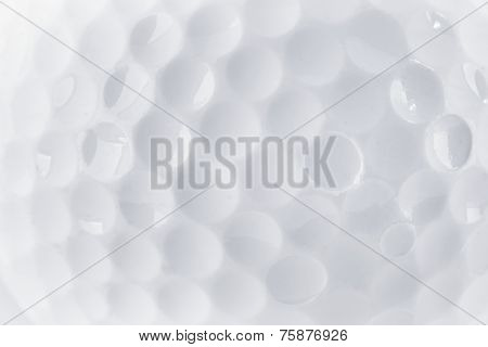 Close Up Of A Golf Ball Texture