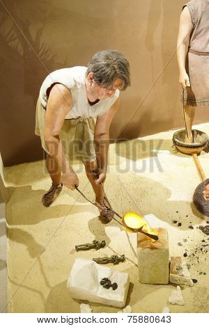 Metal Working In Prehistoric Times