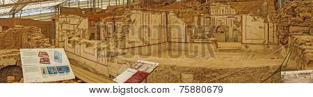 Painted Roman Frescoes