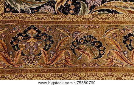 Finely Woven Silk Carpet
