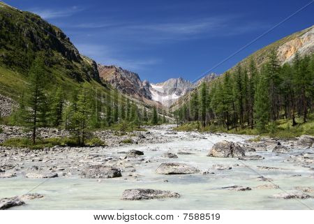 karagem valley altay mountains russia