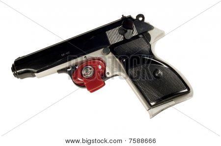Pistol And Trigger Lock