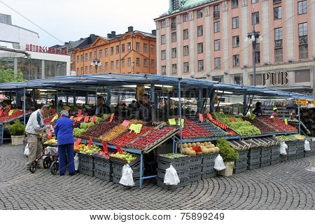 Stockholm - Fruit and vegetable market