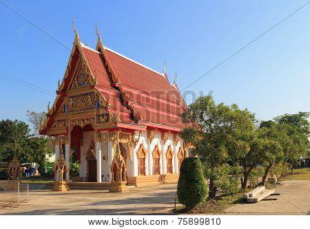 Temple at Wat lumphaya