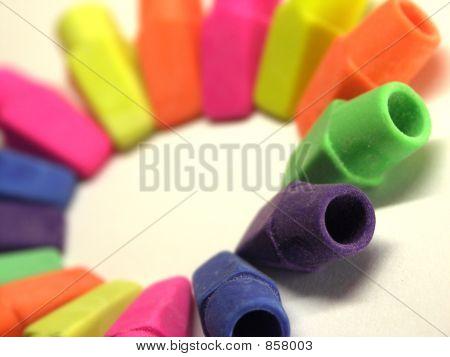 Circle of Erasers