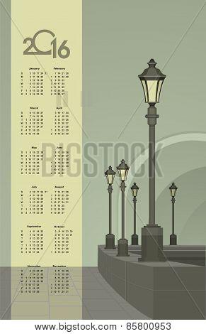 Lights In The Faithful City Calendar
