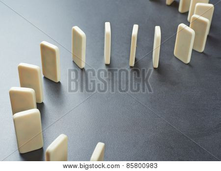 Domino's effect composition