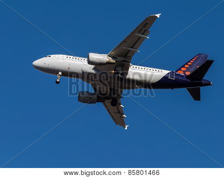 Airbus A319, Brussels Airlines