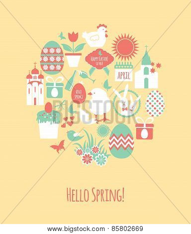 Vector Stock Illustration of easter