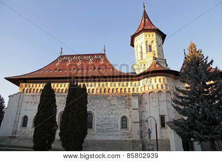Monastery Of Saint John The New, Suceava, Romania.