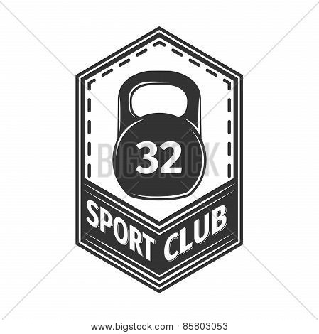 Logo for sport athletic club