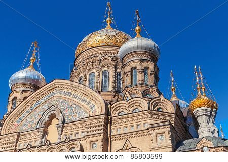 Assumption Church On Vasilevsky Island, Petersburg
