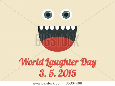 World Laughter Day Card