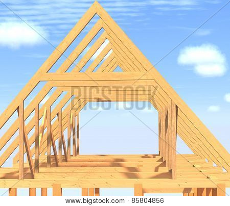 Frame House.