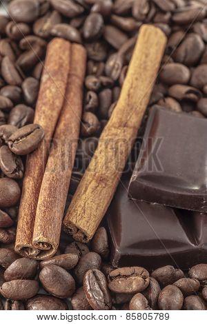 Cofe  And Vanilla Background