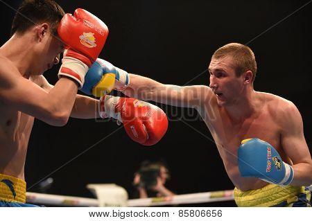 World series of boxing: Ukraine Otamans vs China Dragons