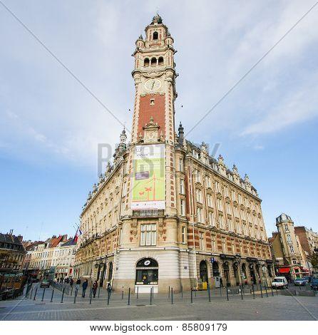 Chambre De Commerce In Lille, France