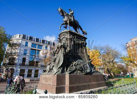 Statue in Lille