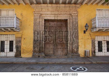 Colourful Buildings in Cartagena de Indias