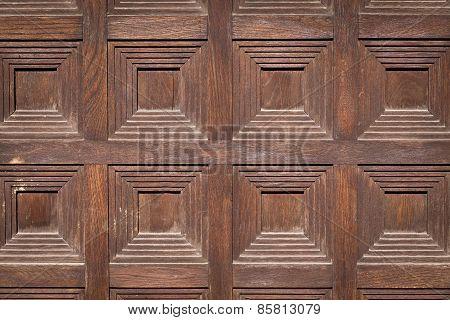 Wooden Ancient Door