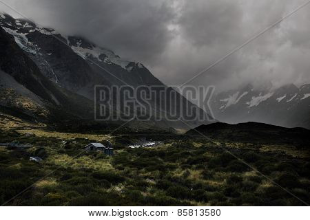 Hooker valley track, Aoraki national park