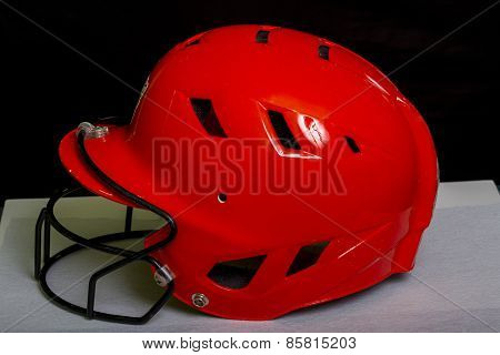 Fastpitch Spftball Batters Helmet With  Facemask