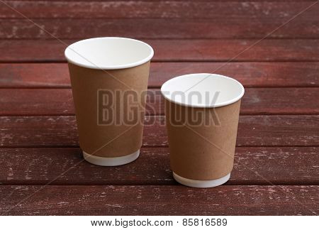 Disposable Coffee Cups Craft