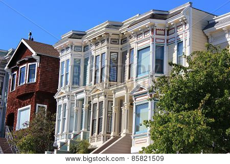 Victorian Row Homes