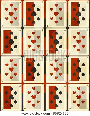 Poker Cards Seamless