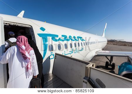 Jazeera Airways Airplane