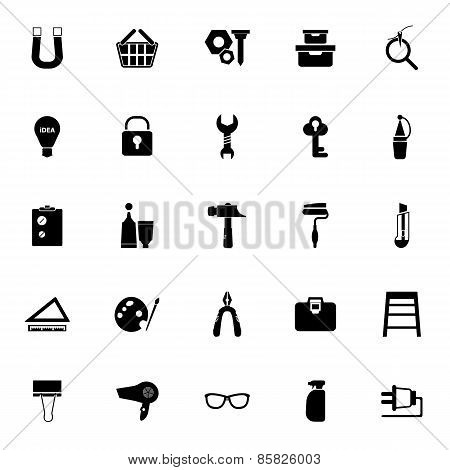 Diy Icons On White Background