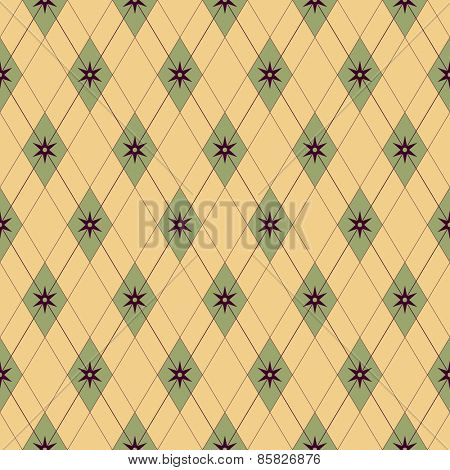 Seamless Damask Wallpaper. Vector Background