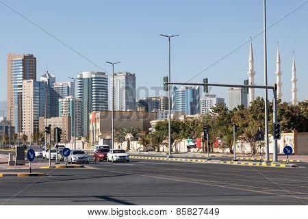 Street Downtown In Fujairah