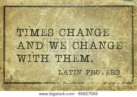 Times Change Lp