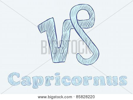 Capricornus zodiac