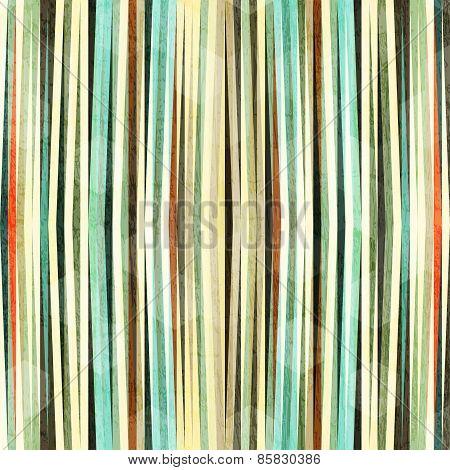 Retro Grunge Line Seamless Pattern