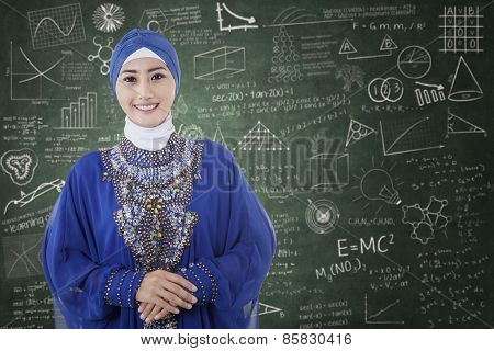 Muslim Student In The Classroom 1