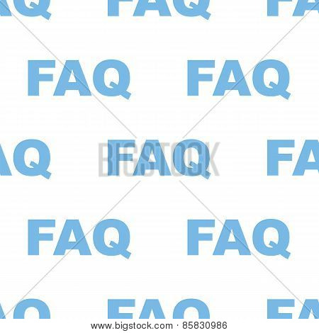 Faq seamless pattern