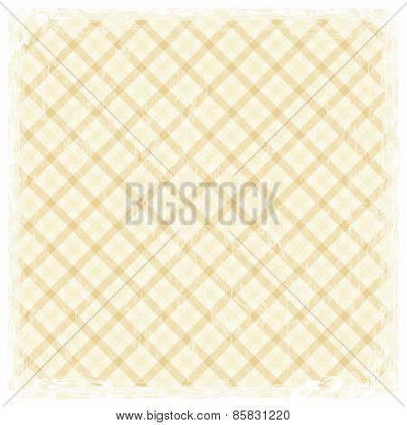 Colored Vintage Background With White Frame