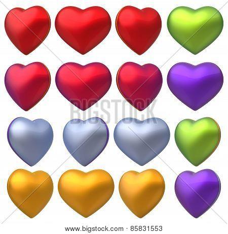 3D Heart Set