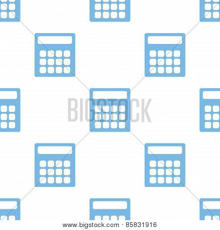 Calculator seamless pattern