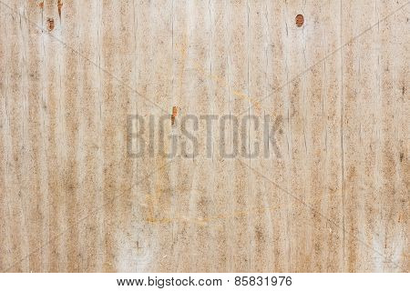 Old Grungy Plywood Material Surface Textured Background