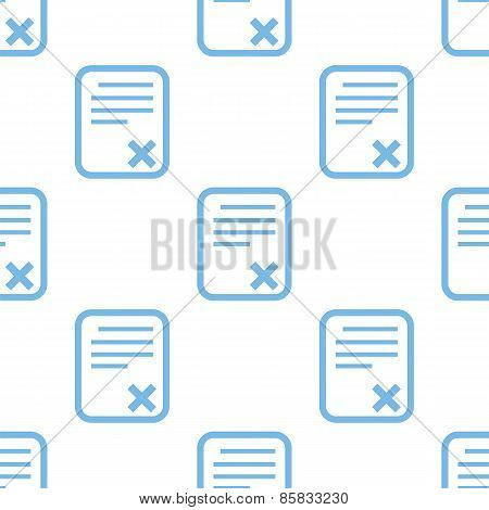 Bad document seamless pattern