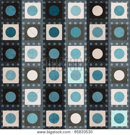 Retro Square Seamless Pattern