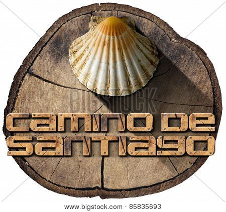Camino De Santiago - Pilgrimage Symbol