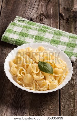 Cooked Pasta.