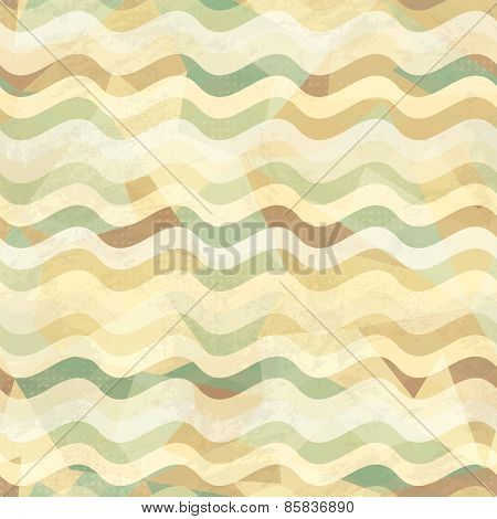 Sand Seamless Pattern With Grunge Effect