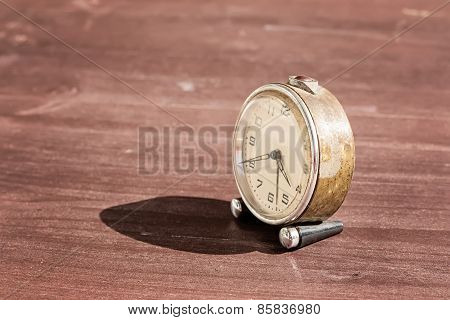 Old Vintage Alarm Clock